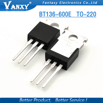 10 ADET BT136-600E TO220 BT136-600 TO-220 BT136 yeni ve orijinal IC 21227