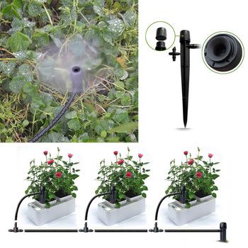 50PCS Adjustable Water Flow Irrigation Drippers Sprinkler Emitter Drip System Water Dripper Farmland Water Drip System 3158