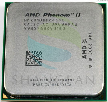 AMD Phenom II X4 910 CPU İşlemci Quad-CORE 2.6G HDX910WFK4DGI Soket AM3 6651