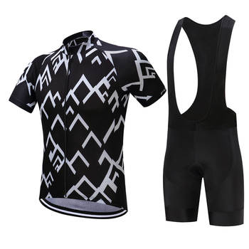 FUALRNY Polyester Nefes Bisiklet Jersey seti 2018 Yeni Mountian Bisiklet Spor Bisiklet Giyim Maillot Ropa Ciclismo 44364