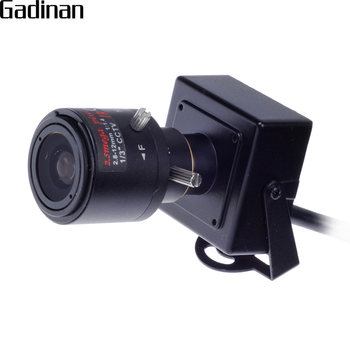 GADINAN Mini IP Kamera Full HD 1080 P 2.0MP 25fps H.265 H.264 ONVIF 2.8-12mm Manuel Varifocal 4X Zoom Lens P2P Hareket algılama 56193