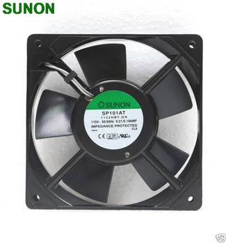 Sunon SP101AT 1122HBT AC Fan 12 CM 12025 1225 120x120x25mm 115VAC 0 2A soğutma fanı eksenel Fan 57971