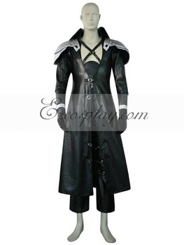 Final Fantasy VII 7 Sephiroth Deluxe Cosplay Kostüm E001
