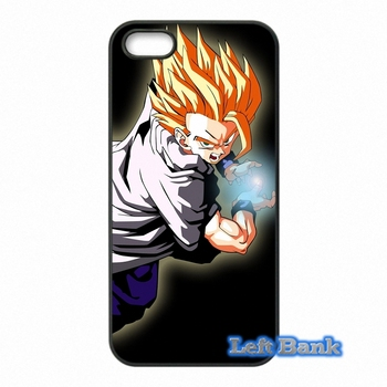 Japon Anime Dragon Ball Telefon Kılıfları Samsung Galaxy Not 2 3 4 5 7 S S2 S3 S4 S5 MINI S6 S7 kenar